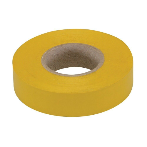 Fixman 189062 Electrical Insulation Tape 19mm x 33m Yellow